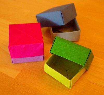 origamipage masu box. Black Bedroom Furniture Sets. Home Design Ideas