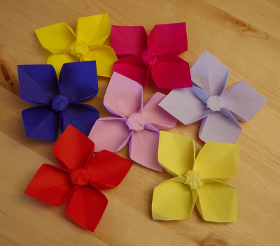 origamipage christrose. Black Bedroom Furniture Sets. Home Design Ideas