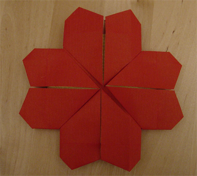origamipage kleeblatt. Black Bedroom Furniture Sets. Home Design Ideas